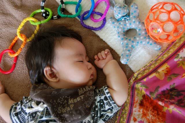 赤ちゃんと家事